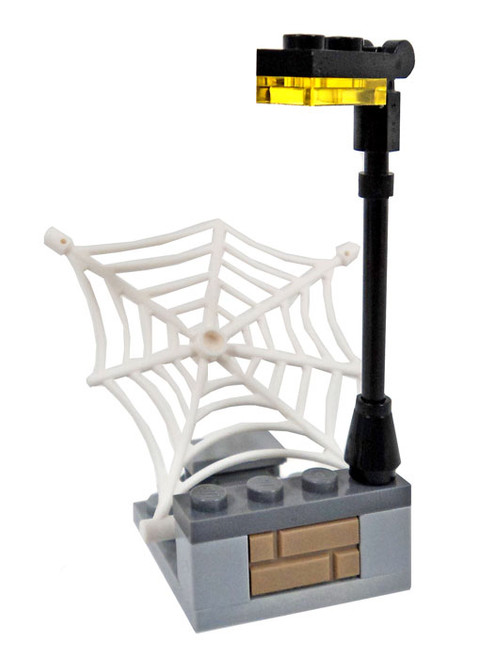LEGO Marvel Super Heroes Light Post with Web Launcher Terrain [Loose]
