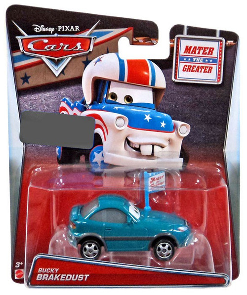 Disney / Pixar Cars Mater the Greater Bucky Brakedust Exclusive Diecast Car #17/18
