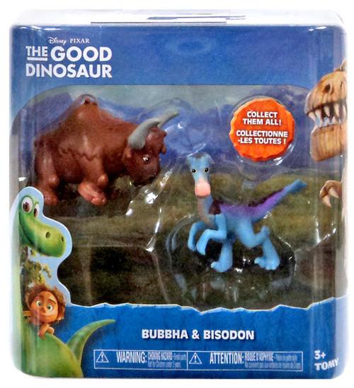 Disney The Good Dinosaur Bubbha & Bisodon Mini Figure 2-Pack
