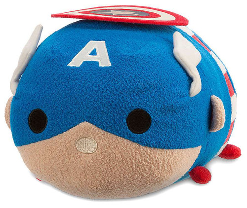 Disney Marvel Universe Tsum Tsum Captain America 11-Inch Medium Plush