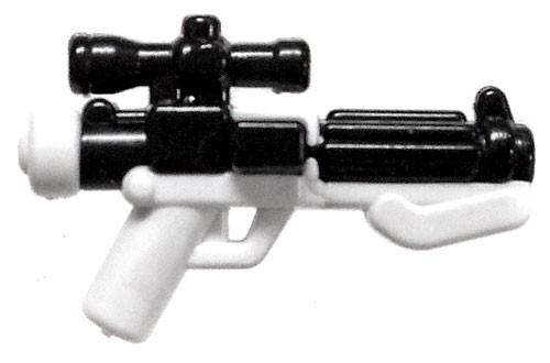 BrickArms FOE-11C Blast Carbine White & Black Minifigure Accessory [Overmolded]
