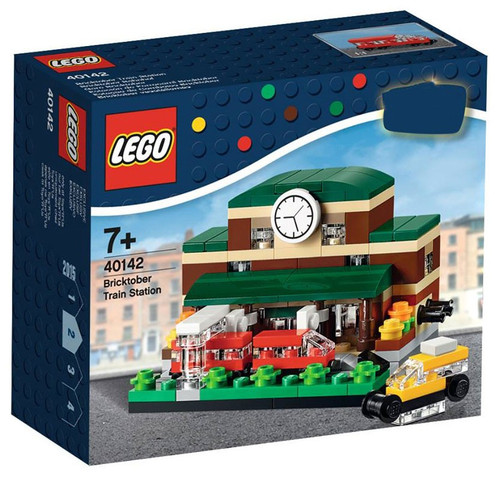 LEGO 2015 Bricktober Train Station Exclusive Set #40142