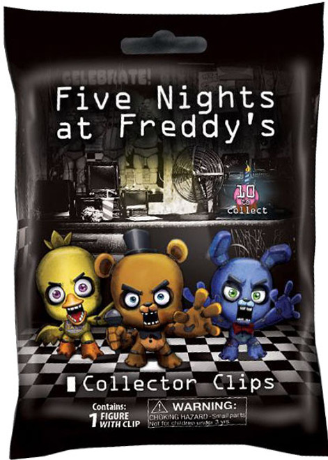 Five Nights at Freddy's FNAF Hangers Series 1 Mystery Pack