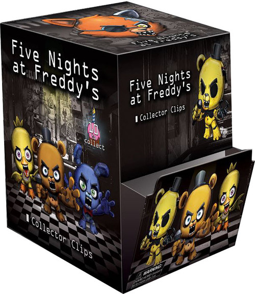 Five Nights at Freddy's FNAF Hangers Series 1 Mystery Box [24 Packs]