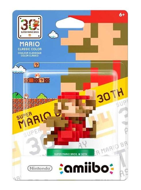 Nintendo Super Mario Bros. 30th Amiibo Mario Mini Figure [Classic Colors]