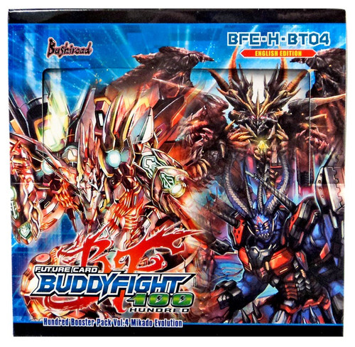 Future Card BuddyFight Trading Card Game Mikado Evolution Booster Box BFE-H-BT04