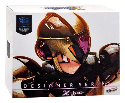 Designer Series X-Kai Mega Man X Exclusive Action Figure [Black & Gold]