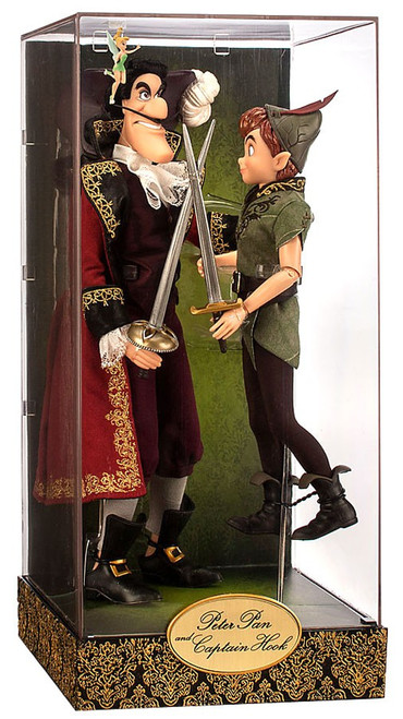 Disney Fairytale Designer Collection Peter Pan and Captain Hook Doll Set