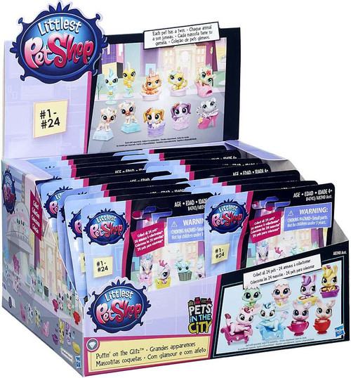Littlest Pet Shop 2016 Series 1 Puttin on the Glitz Mystery Box [24 Packs]