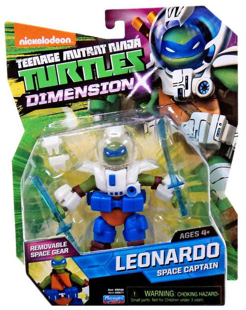 Teenage Mutant Ninja Turtles Nickelodeon Dimension X Leonardo Action Figure [Space Captain]