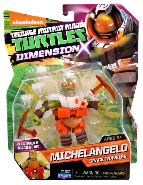Teenage Mutant Ninja Turtles Nickelodeon Dimension X Michelangelo Action Figure [Space Traveler]