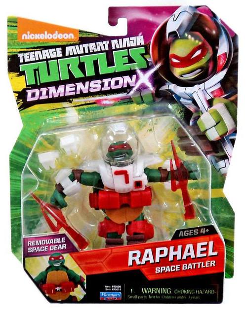 Teenage Mutant Ninja Turtles Nickelodeon Dimension X Raphael Action Figure [Space Battler]