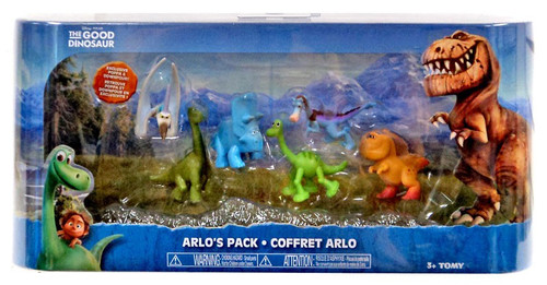 Disney The Good Dinosaur Arlo's Exclusive Mini Figure 6-Pack [Nash, Poppa, Arlo, Bubbha, Will & Downpour]
