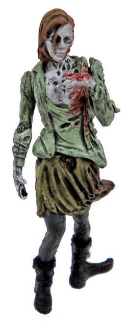 McFarlane Toys The Walking Dead Building Sets Series 3 Herd Walker 2-Inch Mini Figure [Female Loose]