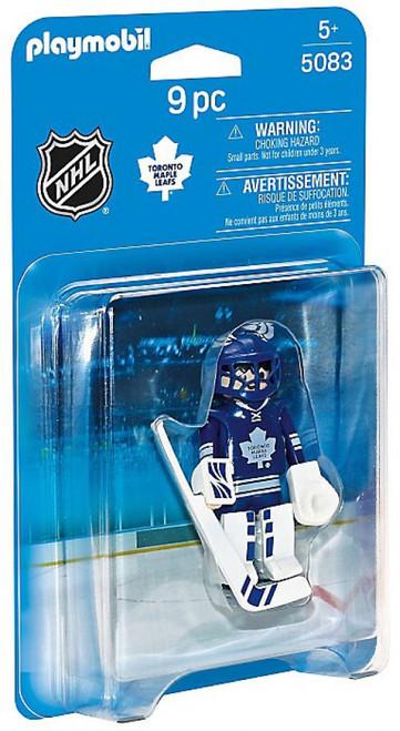 Playmobil NHL Hockey Sports & Action NHL Toronto Maple Leafs Goalie Set #5083