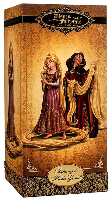Disney Princess Tangled Disney Fairytale Designer Collection Rapunzel & Mother Gothel 11.5-Inch Doll Set
