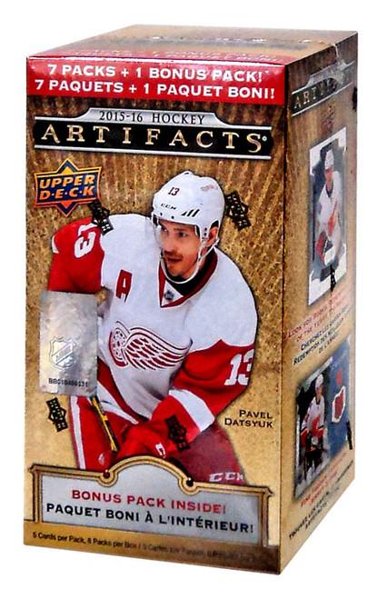 NHL 2015-16 Artifacts Hockey Trading Card BLASTER Box [8 Packs]