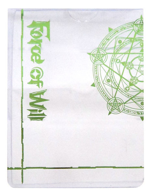 Force of Will Promo J-Ruler Protector Sleeve Accessory [Green]