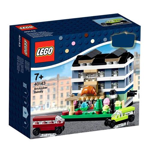 LEGO Bricktober 2015 Bricktober Bakery Set #40143