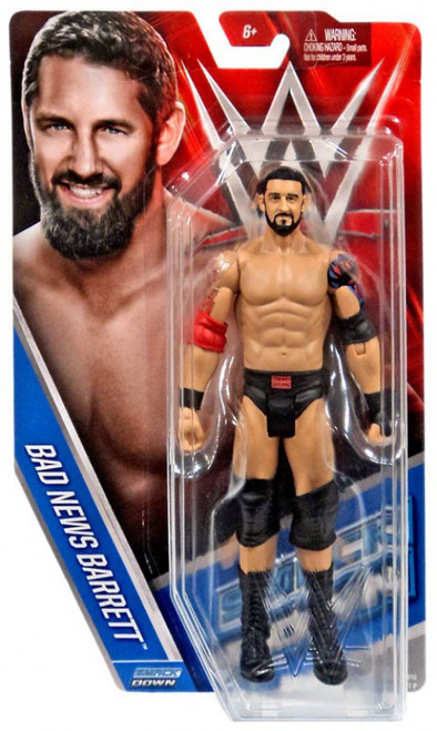 WWE Wrestling Series 58 Bad News Barrett Action Figure