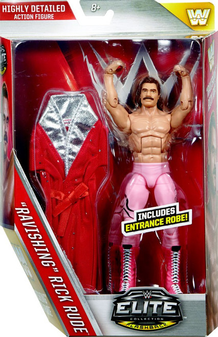 WWE Wrestling Elite Collection Series 40 Ravishing Rick Rude Action Figure [Entrance Robe]