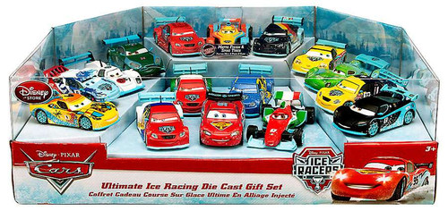 Disney / Pixar Cars 1:43 Deluxe Sets Ultimate Ice Racing Exclusive Diecast Car Set
