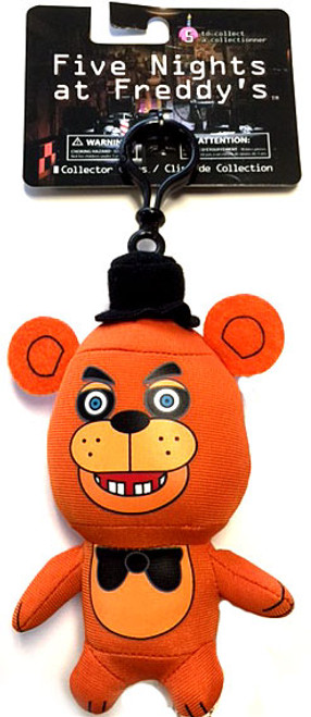Five Nights at Freddy's Freddy 4-Inch Plush Clip On