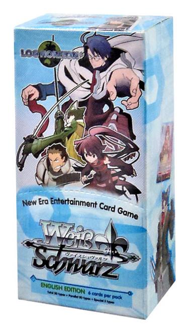 Weiss Schwarz Log Horizon (English) Booster Box [6 Packs]