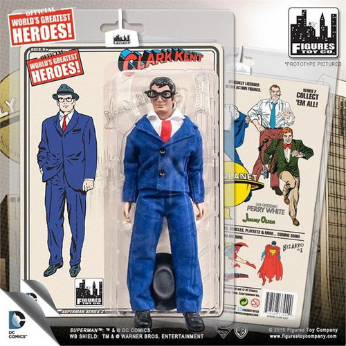 DC Superman World's Greatest Heroes! Series 2 Clark Kent Action Figure