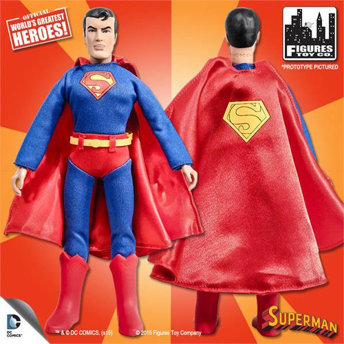 DC World's Greatest Heroes Super Friends Superman Action Figure