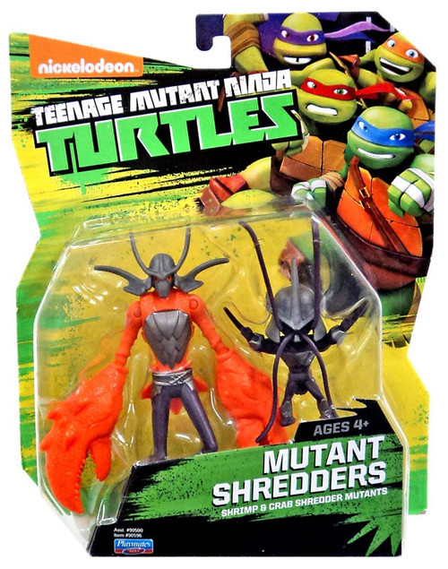Teenage Mutant Ninja Turtles Nickelodeon Mutant Shredders Action Figure [Shrimp & Crab Shredder Mutants]