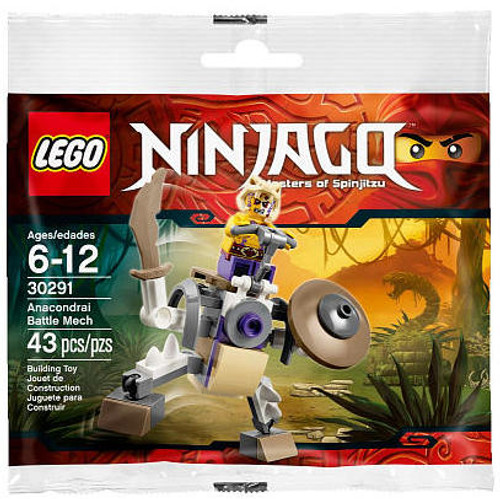 LEGO Ninjago Anacondrai Battle Mech Mini Set #30291 [Bagged]