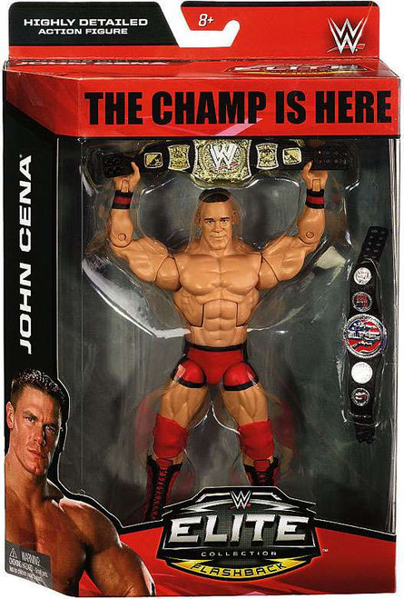 WWE Wrestling Elite Debut John Cena Exclusive Action Figure