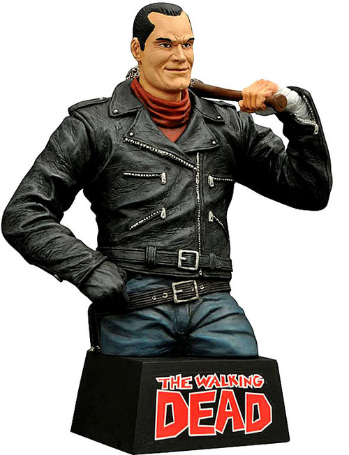 The Walking Dead Comic Negan Bust Bank