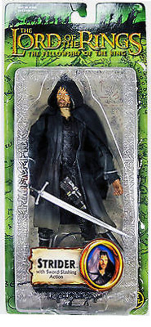 The Lord of the Rings The Fellowship of the Ring Strider Action Figure [Sword Slashing Action]