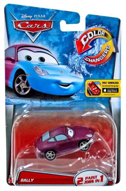 Disney / Pixar Cars Color Changers Sally Diecast Car [2015]