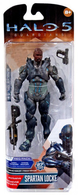McFarlane Toys Guardians Halo 5 Series 1 Spartan Locke Exclusive Action Figure [No Helmet]