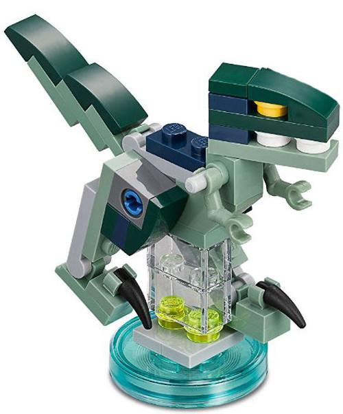 LEGO Dimensions Jurassic World Owen's Velociraptor Dinosaur [Blue Loose]