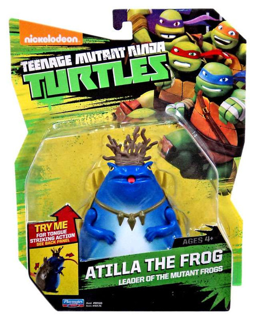 Teenage Mutant Ninja Turtles Nickelodeon Atilla The Frog Action Figure