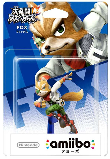 Nintendo Japanese Amiibo Fox Mini Figure [Japanese]