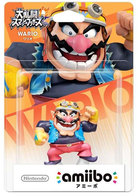 Nintendo Japanese Amiibo Wario Mini Figure [Japanese]