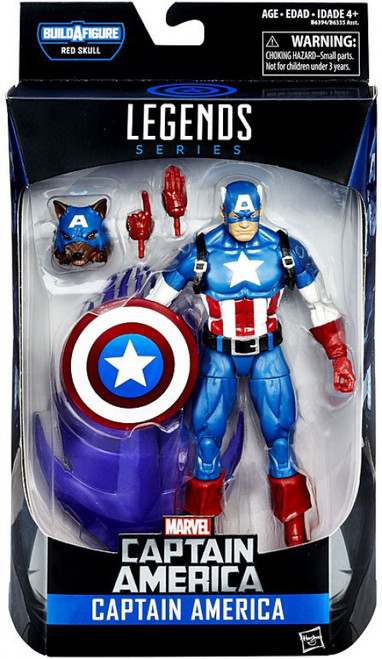 Captain America Civil War Marvel Legends Red Skull Captain America Action Figure [Werewolf]