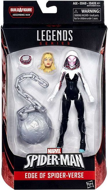 Marvel Legends Spider-Man Absorbing Man Series Spider-Gwen Action Figure [Edge of Spider-Verse]