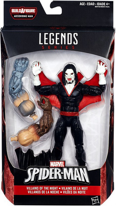 Marvel Legends Spider-Man Absorbing Man Series Morbius the Living Vampire Action Figure [Villains of the Night]