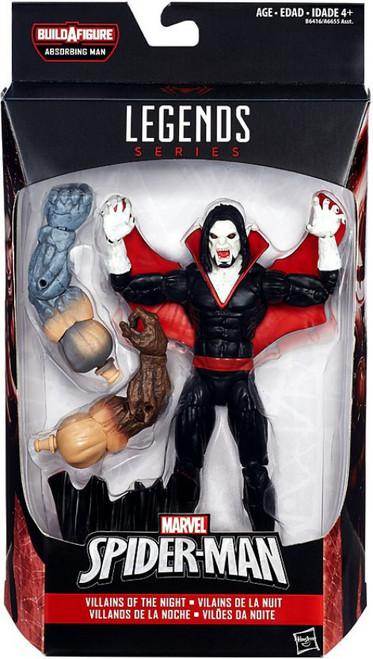 Marvel Legends Spider-Man Absorbing Man Series Morbius the Living Vampire Action Figure [Villains of the Night]