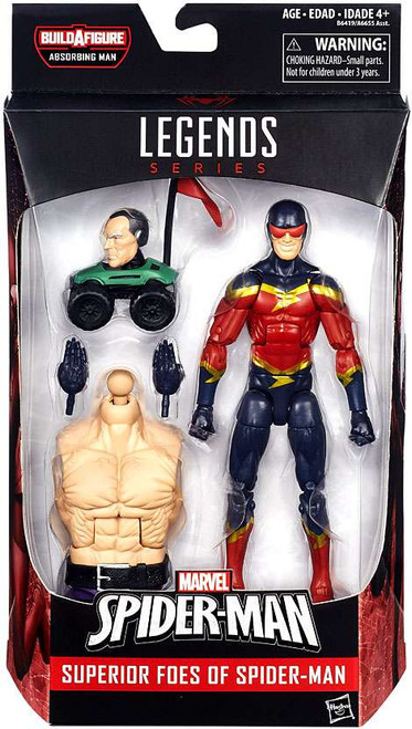 Marvel Legends Spider-Man Absorbing Man Series Speed Demon Action Figure [Superior Foes]