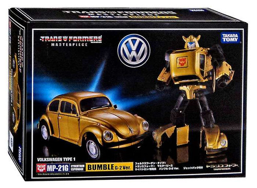 Transformers Japanese Masterpiece Collection Bumblebee G-2 Ver. Action Figure MP-21G [Volkswagen Type 1]