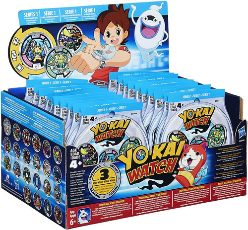 Yo-Kai Watch YOKAI MEDALS Mystery Box [24 Packs]