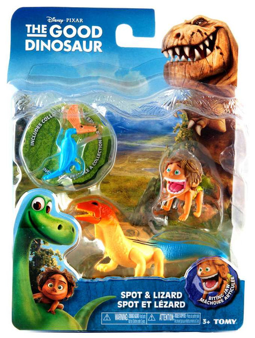 Disney The Good Dinosaur Spot & Lizard Action Figure 2-Pack