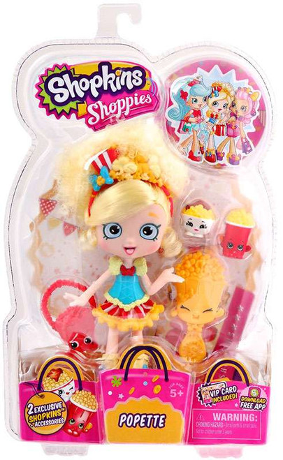 Shopkins Shoppies Popette Doll Figure
